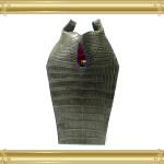 オーダー例25:マットクロコダイルのマグナムボトルバッグ