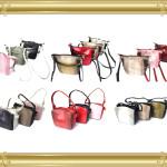 オーダー例22:パイソン/ラムのSDバッグと1本手バッグ
