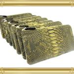 オーダー例20:パイソンの長財布